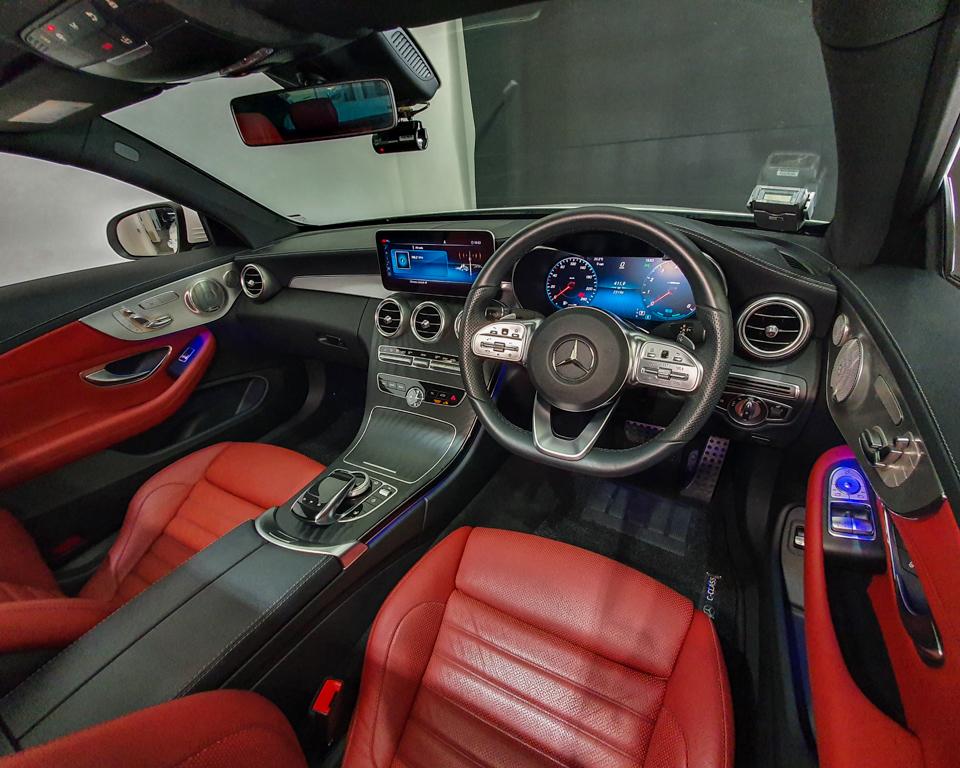 2019 Mercedes-Benz C-Class C200 Coupe Mild Hybrid AMG Line - Interior