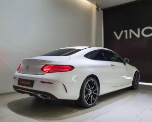2019 Mercedes-Benz C-Class C200 Coupe Mild Hybrid AMG Line - Rear Angle