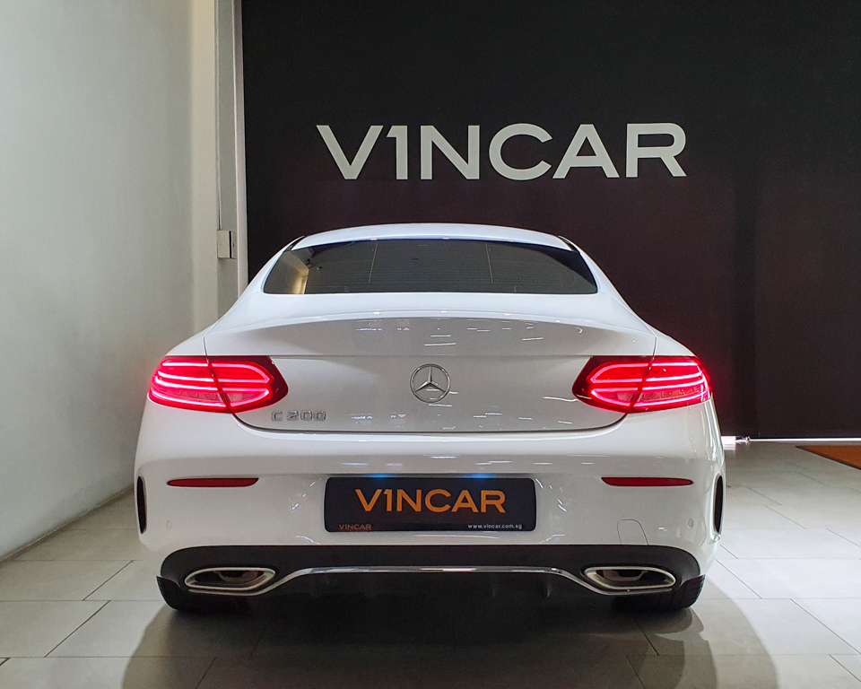 2019 Mercedes-Benz C-Class C200 Coupe Mild Hybrid AMG Line - Rear Direct