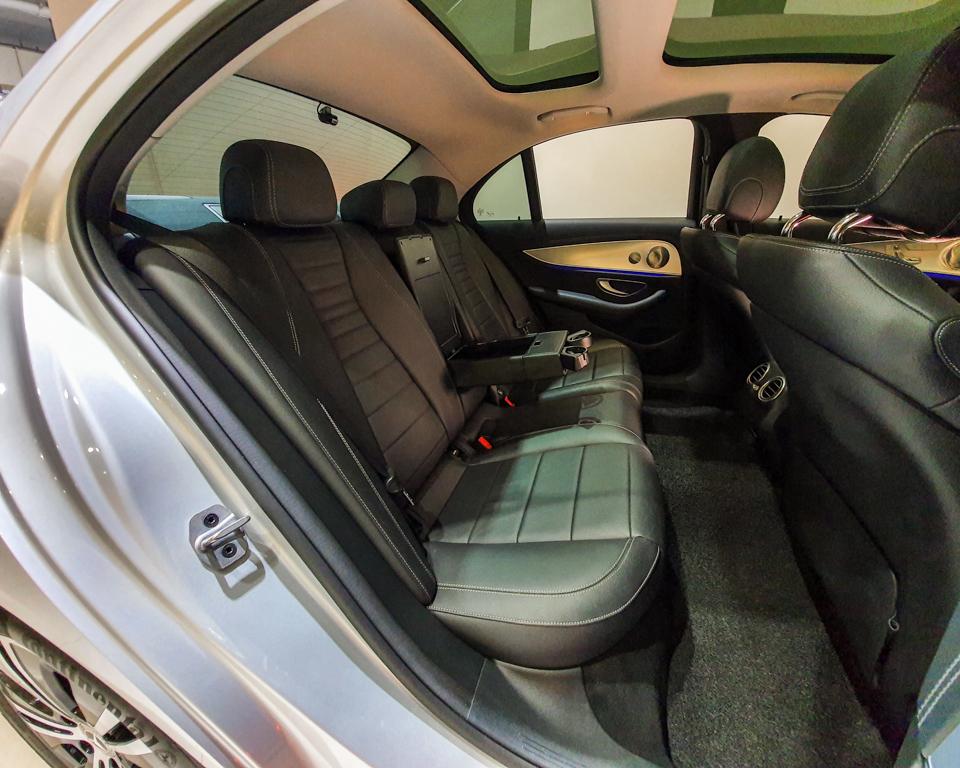 2020 Mercedes-Benz E-Class E200 SE Premium - Rear Seat