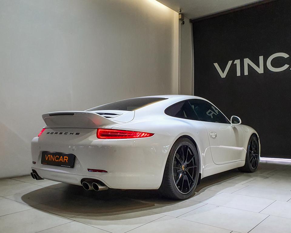 2012 Porsche 911 Carrera S Coupe 3.8A PDK (COE till 05_2031) - Rear Quarter Angle