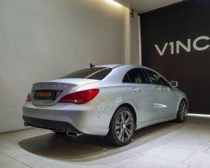 2015 Mercedes-Benz CLA-Class CLA180 - Rear Quarter Angle