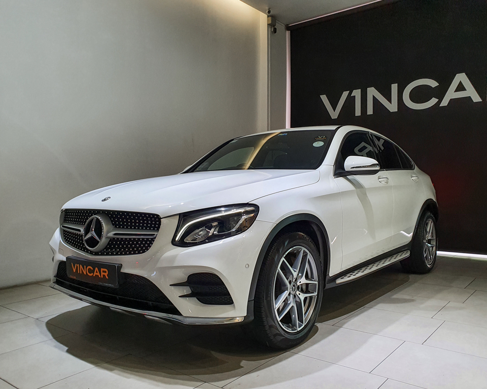 2018 Mercedes-Benz GLC-Class GLC250 Coupe AMG 4MATIC Premium - Front Angle