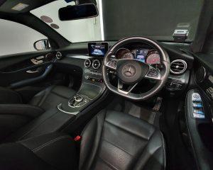 2018 Mercedes-Benz GLC-Class GLC250 Coupe AMG 4MATIC Premium - Steering Wheel