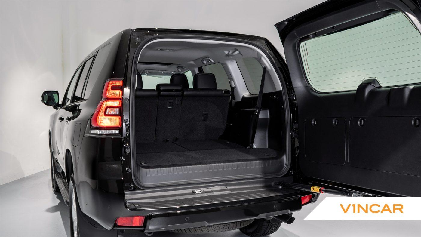 Toyota Land Cruiser Prado 2.7 TXL Petrol (7 Seater) - Boot Space