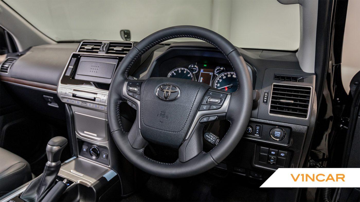 Toyota Land Cruiser Prado 2.7 TXL Petrol (7 Seater) - Steering Wheel