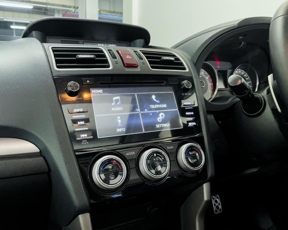 2015 Subaru Forester 2.0XT Sunroof - HVAC System