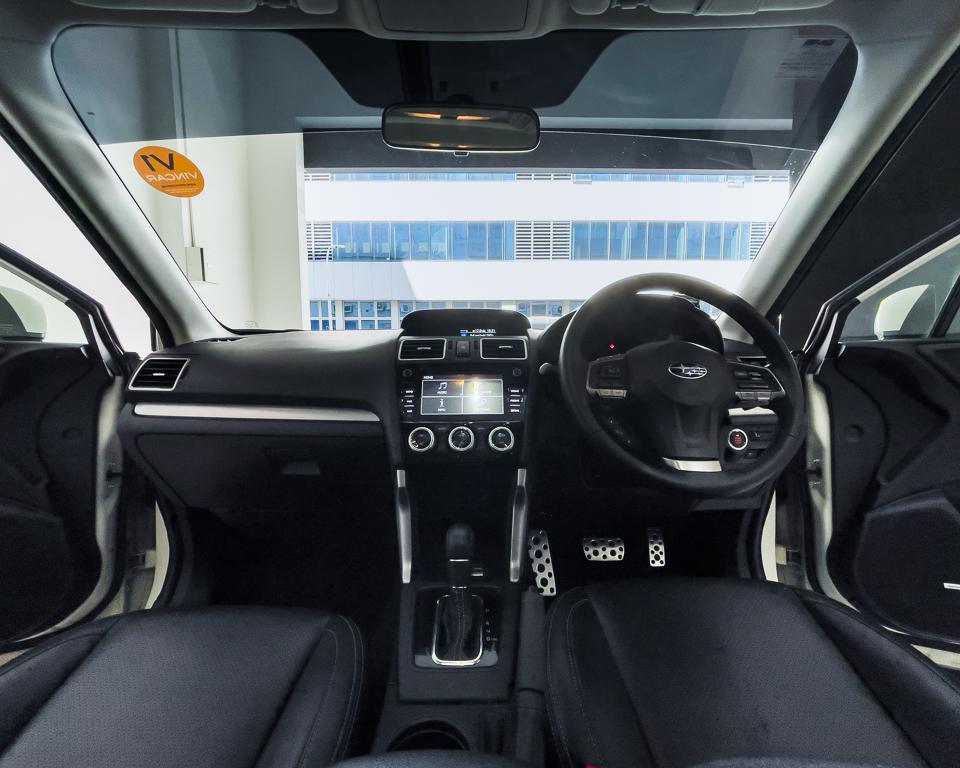2015 Subaru Forester 2.0XT Sunroof - Interior Dashboard