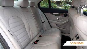 2016 Mercedes-Benz C-Class C200 Exclusive - Rear Seat