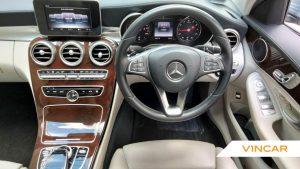 2016 Mercedes-Benz C-Class C200 Exclusive - Steering Wheel