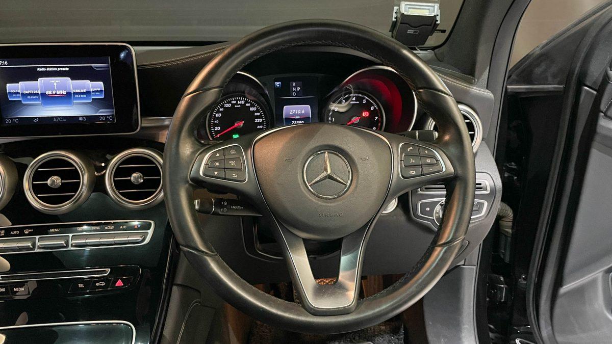 2016 Mercedes-Benz GLC-Class GLC250 4MATIC - Steering Wheel