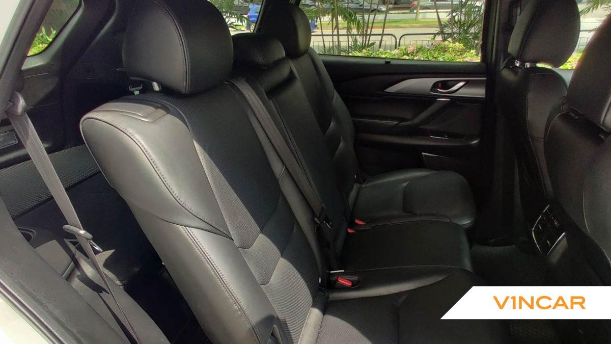 2017 Mazda CX-9 2.5A Turbo - Rear Seat