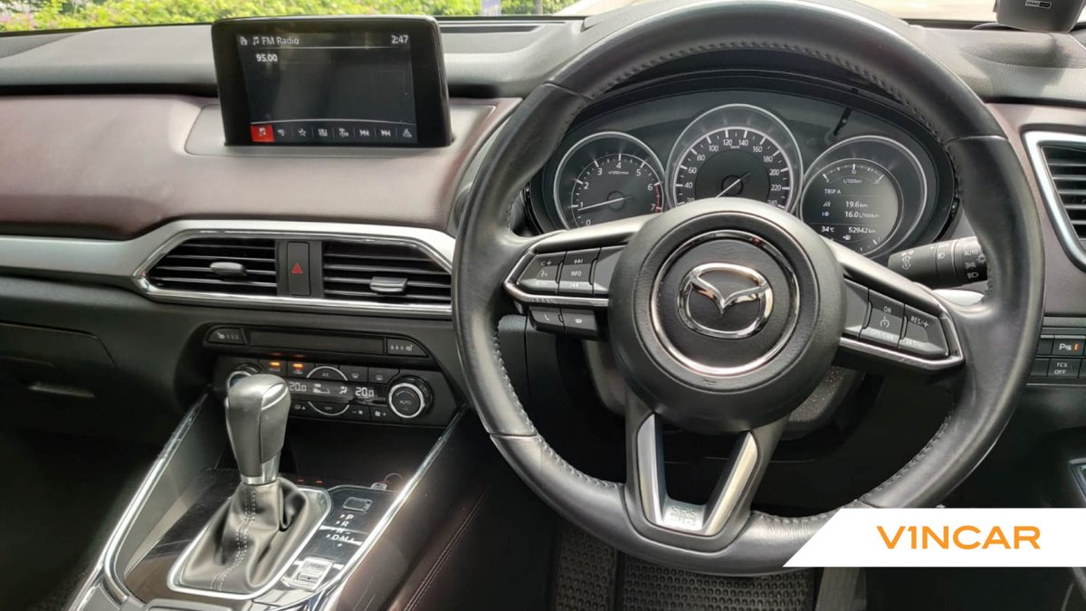 2017 Mazda CX-9 2.5A Turbo - Steering Wheel