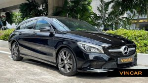 2017 Mercedes-Benz CLA-Class CLA180 Shooting Brake Urban - Front Angle