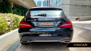 2017 Mercedes-Benz CLA-Class CLA180 Shooting Brake Urban - Rear Direct