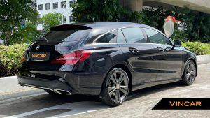 2017 Mercedes-Benz CLA-Class CLA180 Shooting Brake Urban - Rear Quarter Angle