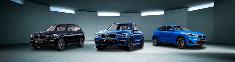 BMW X series Category Banner