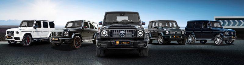 Mercedes-Benz G-Class Category Banner
