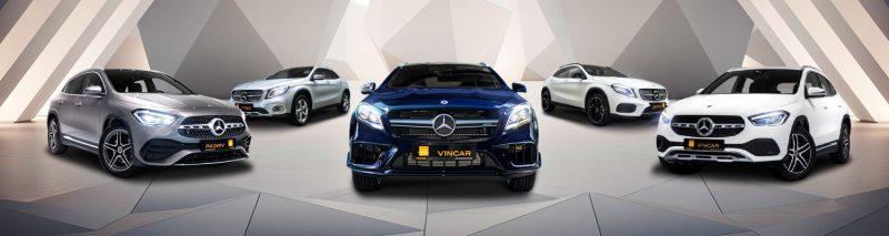 Mercedes-Benz GLA-Class Category Banner
