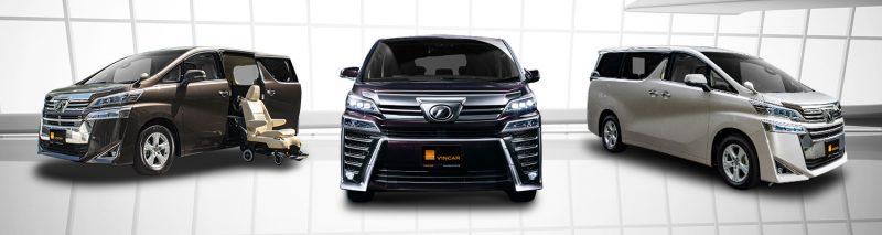 Toyota Vellfire Category Banner
