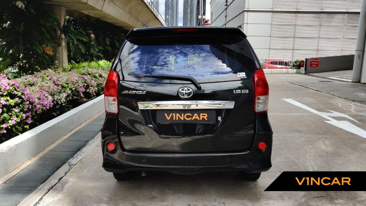 2014 Toyota Avanza 1.5A - Rear Direct