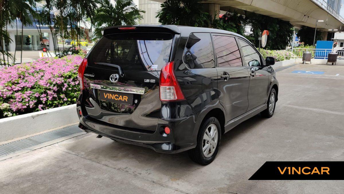 2014 Toyota Avanza 1.5A - Rear Quarter Angle