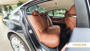 2016 BMW 5 Series 520i - Back Seat