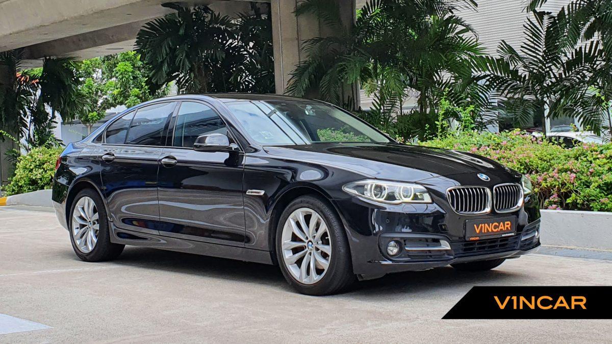 2016 BMW 5 Series 520i - Front Angle