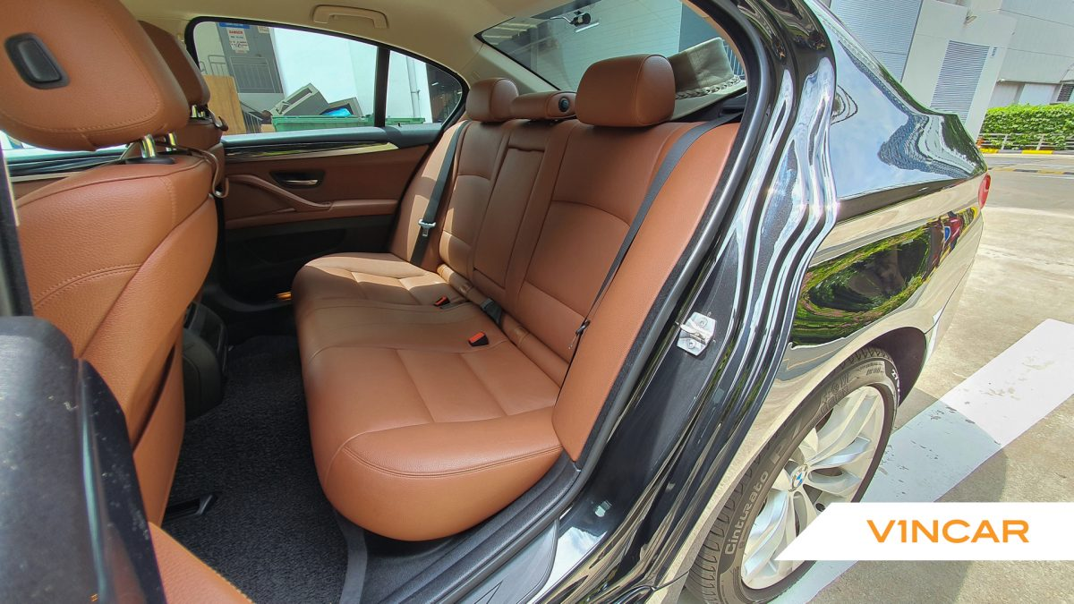 2016 BMW 5 Series 520i - Rear Seat