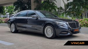 2016 Mercedes-Benz S320L - Front Angle