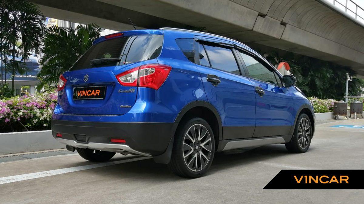 2017 Suzuki SX4 S-Cross 1.6A Sunroof - Rear Quarter Angle