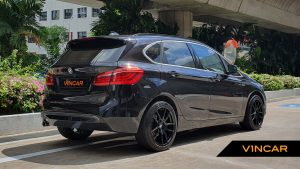 2018 BMW 2 Series 216d Active Tourer - Rear Quarter Angle