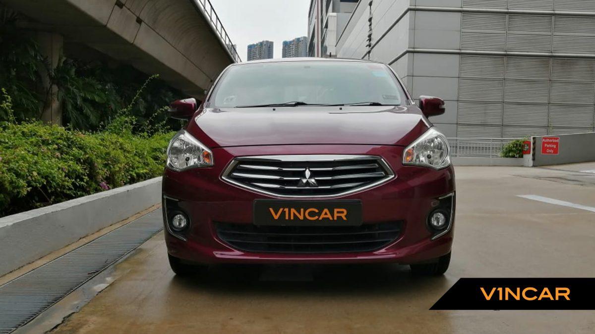 2018 Mitsubishi Attrage 1.2A - Front Direct