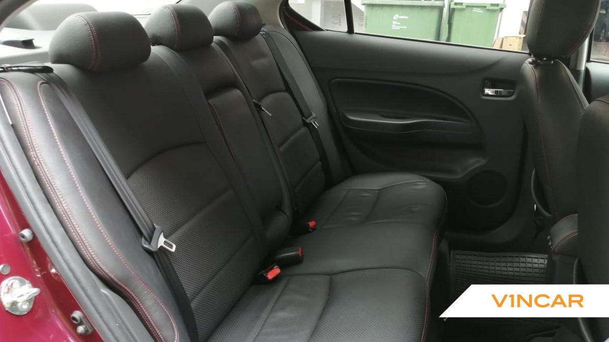 2018 Mitsubishi Attrage 1.2A - Rear Seat
