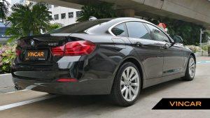 2019 BMW 4 Series 420i Gran Coupe - Rear Quarter Angle