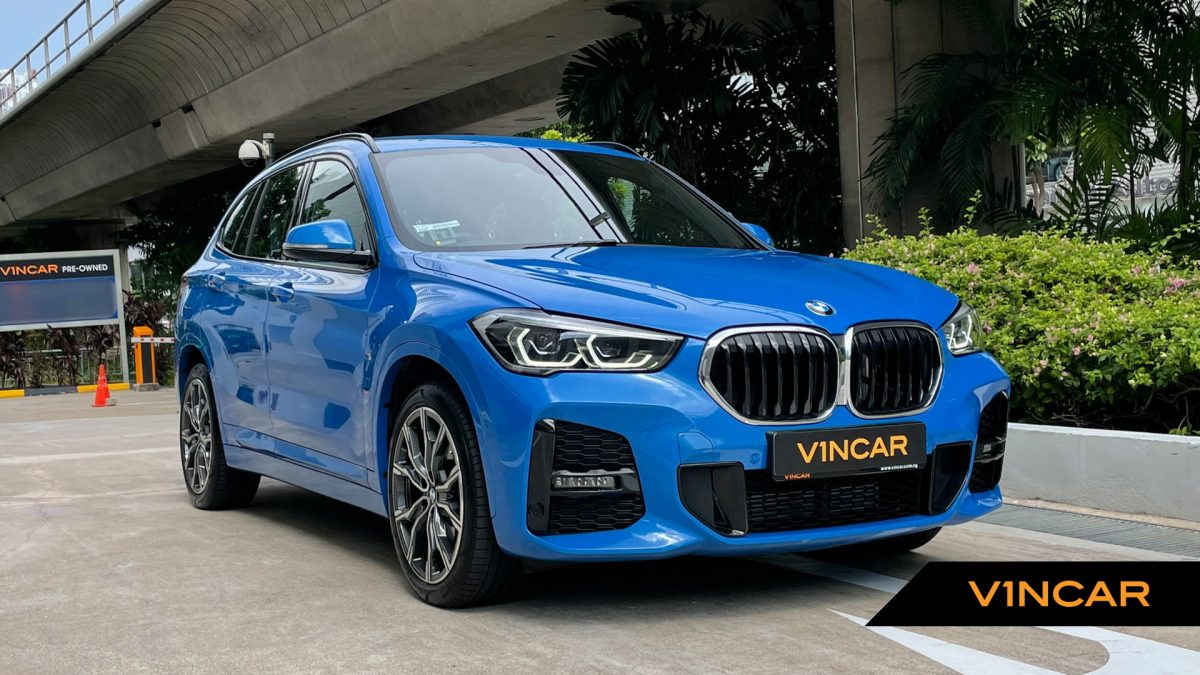 2020 BMW X1 sDrive20i M-Sport - Front Angle