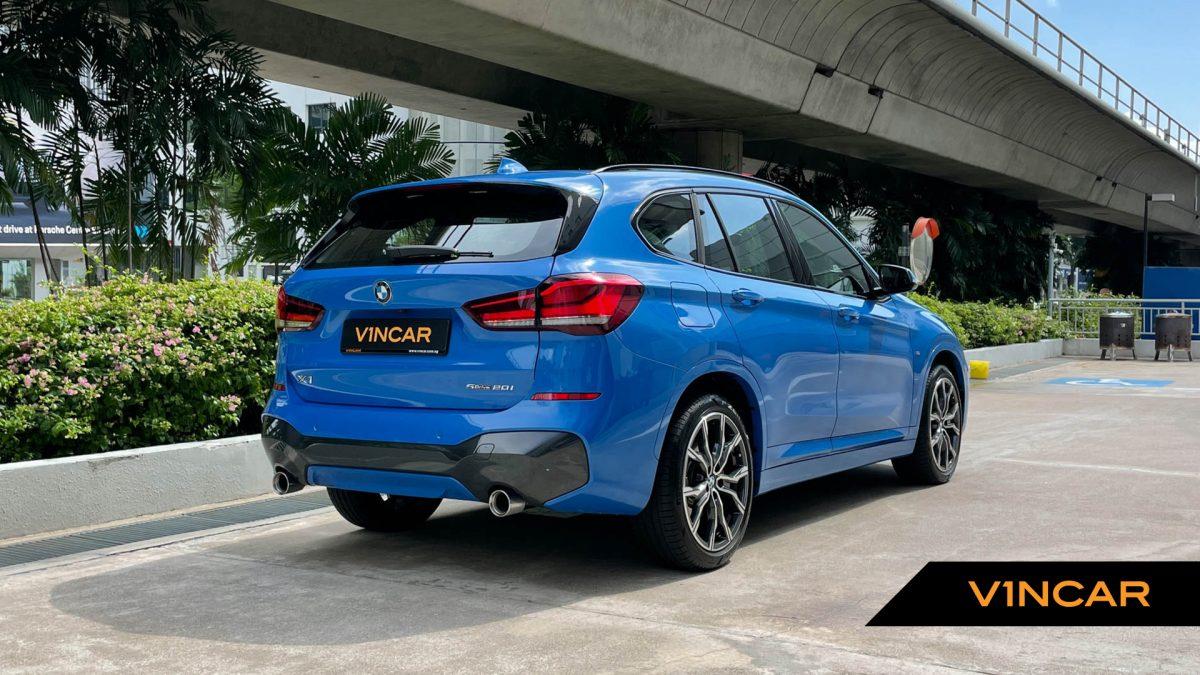 2020 BMW X1 sDrive20i M-Sport - Rear Quarter Angle