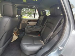 2020 Land Rover Range Rover Plug-in Hybrid 2.0A P400e PHEV - Rear Seat