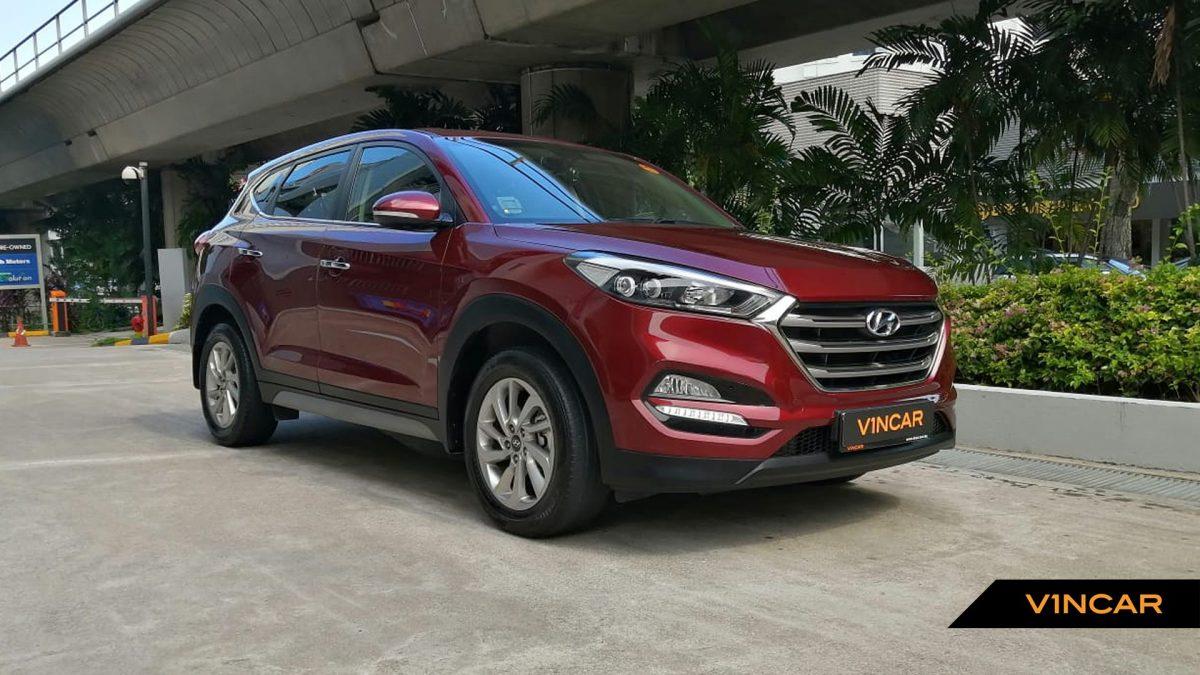 2017 Hyundai Tucson 2.0A GLS
